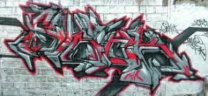 redandgrey graffiti artistjumpoff